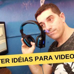 Idéias de Videos como ter idéias de vídeos vencedores para seus canais de nicho