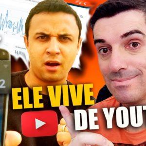 Viver de Youtube é Possível? ? Entrevista com Aldênis Aluno Pulo do gato, Player de Youtube #youtube
