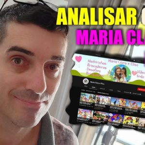 Analisando Canal de Inscritos Canal infantil - Maria Clara e Elisa