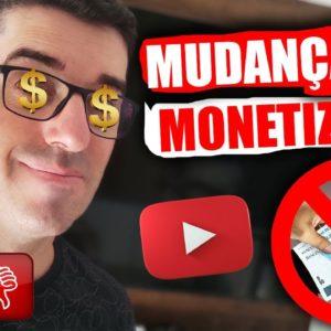 URGENTE! Mudança na Monetização do Youtube | você pode receber bem Menos agora! CUIDADO!