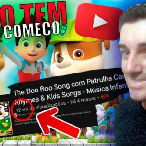 Como Crescer Canal Infantil no Youtube