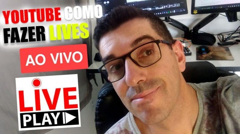 Como fazer Live Stream no Youtube passo a passo