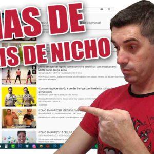 Canais de nicho no youtube: Como ter idéias Vencedoras para Conteúdos de canal de nicho no Youtube