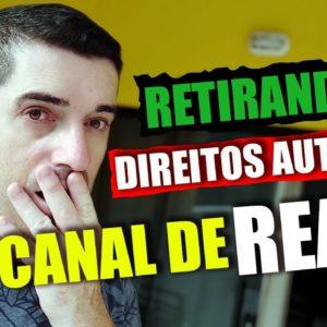Como retirar os direitos autorais de Canal de React | Como fazer Canal de React tutorial