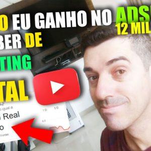 Como criar um Canal de Marketing Digital no Youtube Quanto ganha um youtuber de Marketing digital