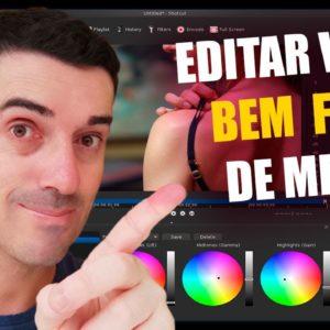 Editor de vídeos para PC Grátis Simples de Usar Como editar Videos para o youtube