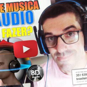 Como Criar um canal de Musicas 8D no Youtube? Como criar músicas 8D passo a passo #musicas