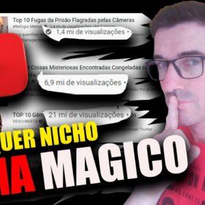 Como fazer vídeos que VÃO BOMBAR em qualquer NICHO COM ESTA PALAVRA MAGICA OS VIDEOS TOP 10 #top10