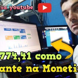 Como eu vendi 2 774,41 na MONETIZZE como iniciante pelo youtube Orgânico