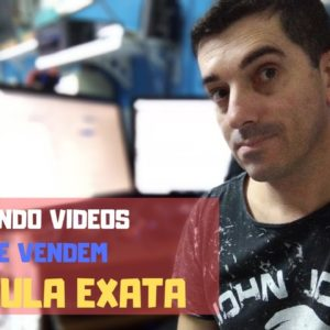 Fórmula de vídeos que vendem como fazer vídeos para vender em canais de nicho no youtube