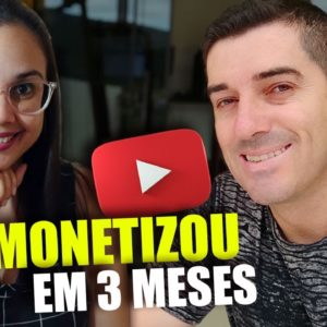 Ela conseguiu Reunir os Requisitos de Monetização no youtube em 3 meses! Entrevista com Mariana C.