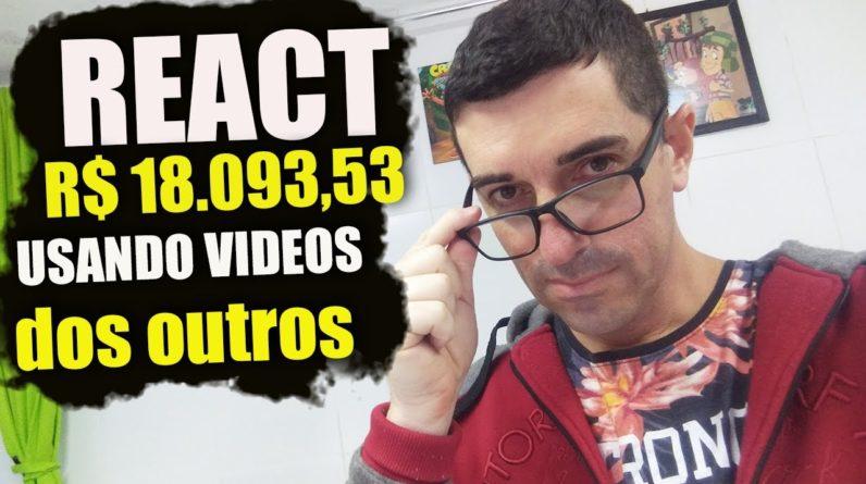 r um canal de react no youtube ractions canal ganha r 18 09353 por mes gGOl1jAJVKQ