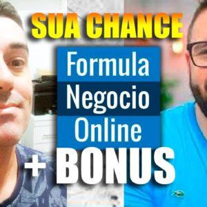 APROVEITA! Formula negócio Online 30% de Desconto PROMOÇÃO + BÔNUS  #alexvargas #fno