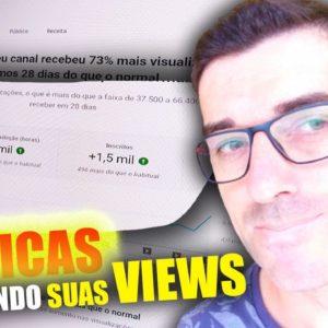 Métricas youtube:Como aumentar o Número de Visualizações nos seus vídeos através das Métricas