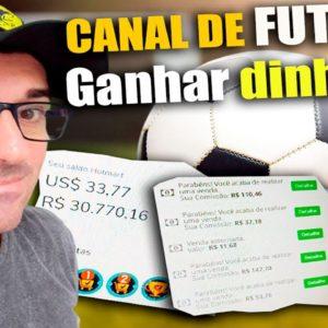 Como Criar um Canal de Futebol ⚽ no youtube e ganhar dinheiro com Monetização e Vendas!