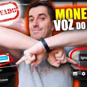 Voz do Google Monetiza sim ou não? Vídeos Creative Commons + voz sintética aprova Monetização?