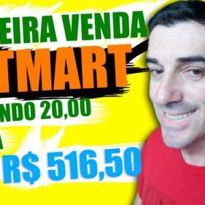 Como Fazer a Primeira Venda na Hotmart: investindo 20,00 por dia Ganhei R$ 516,50