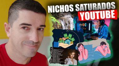 Crescer no Youtube 5 Nichos Saturados que as pessoas mais fazem canais hoje