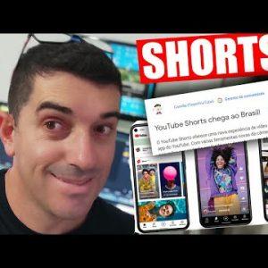 Youtube Shorts Chega ao Brasil OFicialmente   O que é Short? Como funcionam os shorts? #shorts