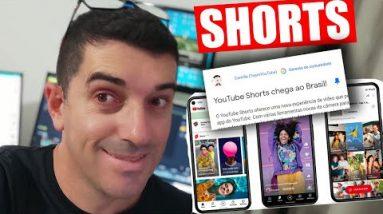 Youtube Shorts Chega ao Brasil OFicialmente | O que é Short? Como funcionam os shorts? #shorts