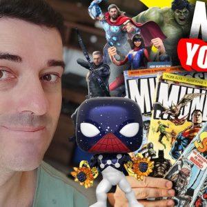 Como Criar um Canal Dark Nicho Nerd Comics Mundo POP e Derivados