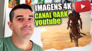 Criando um Canal de Videos de 4K videos de 8k Alta qualidade