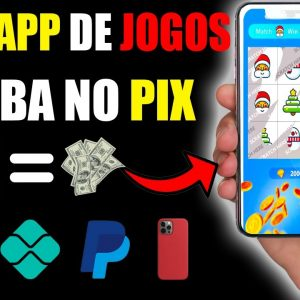 [Ganhar Jogando] App de Celular que paga para você Jogar Games