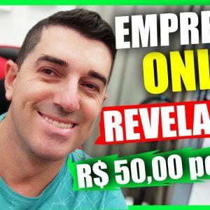 [REVELADO] Ganhar R$ 50,00 POR DIA ! Ganhar dinheiro na Internet   Site de Empregos Online