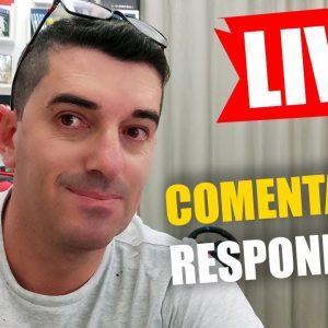 Live Respondendo Comentários ao vivo   Erivelton