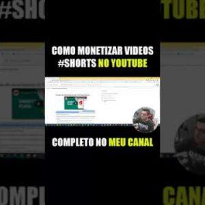 [ #shorts ] O Youtube vai monetizar videos shorts