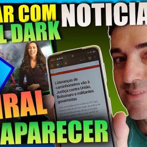 [ Aulão ]  Canal Dark de Notícias com Apresentador |  Ganhar Dinheiro no Youtube com Canais Dark.