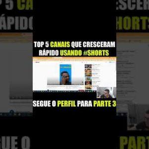 Top 5 Canais #shorts viral - PARTE 2